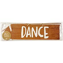 Buy Talking Tables Wooden Signs Online at johnlewis.com