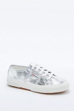 "nice Superga - Sneaker ""2750 Cotu Classic"" in Silber - Damen 37.5 http://portal-deluxe.com/produkt/superga-sneaker-2750-cotu-classic-in-silber-damen-37-5/  77.00"
