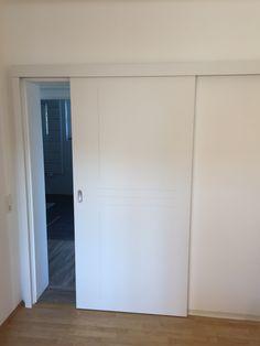 Schiebetür weiß holz  Schiebetür weiß Holz modern | Aster Türen - Porte | Pinterest ...