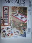 SEWING PATTERN~McCalls 6454 STOCKING, TABLE RUNNER, TREE SKIRT One Size UNCUT - http://sewingpins.net/sewing-cabinets/sewing-patternmccalls-6454-stocking-table-runner-tree-skirt-one-size-uncut/