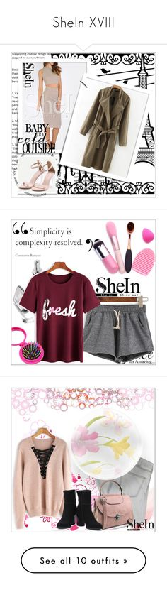 """""""SheIn XVIII"""" by emina-095 ❤ liked on Polyvore featuring WithChic, shein, Current/Elliott, Chanel, Edie Parker and RE/DONE"""
