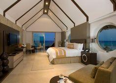 Grand Velas All Suites and Spa Resort Riviera Maya Grand Velas Riviera Maya, Luxury Accommodation, Destin Beach, Resort Spa, Bunk Beds, Beach House, Interior Design, Design Interiors, Furniture