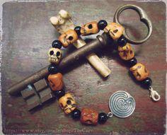 Travail avec les morts Perles de prière Pagan prayer beads Death Work