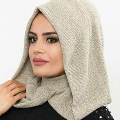 Iranian Women Fashion, Muslim Fashion, Hijab Fashion, Stylish Hijab, Hijab Chic, Turban Hijab, Hijab Dress, Scarf Vest, Hooded Scarf