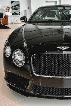 The Bentley Continental GT Speed - Super Car Center Porsche, Audi, Bmw, Bentley Auto, Black Bentley, Koenigsegg, Sexy Cars, Hot Cars, Mercedes Benz Amg