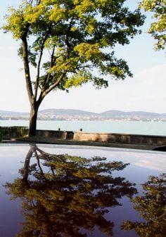 Balaton: Reflection (on car roof)by mathi.eu