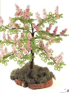 Árvore de Bonsai feito de Miçanga   Henry Artesanato   Elo7