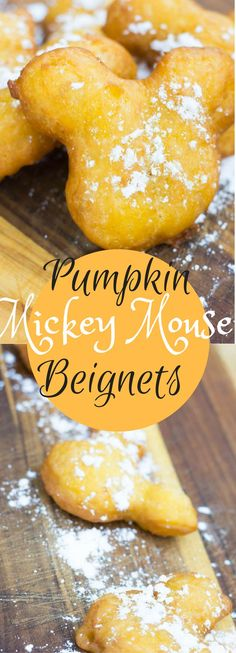 Disneyland Copycat Pumpkin Mickey Mouse Beignets (And Disneyland Giveaway!).