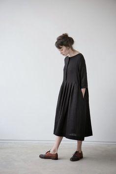 Black dress from MUKU #fashion