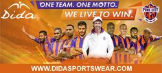 DIDA Banner for FC Pune City Team