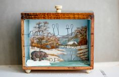"""""""The Wanderer"""" Storybox Sculpture 