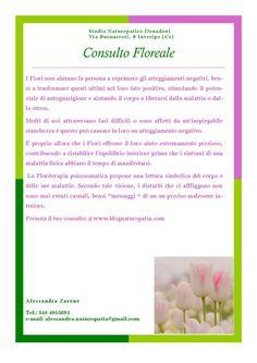 CONSULTO FLOREALE  studio naturopatico donadoni inverigo como