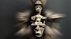 Masque ogoni du Nigeria