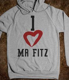 'I Heart Mr Fitz' Pretty Little Liars Shirt