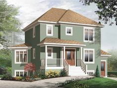 Eplans Country House Plan - Four Bedroom Country - 2395 Square Feet and 4 Bedrooms from Eplans - House Plan Code HWEPL65188