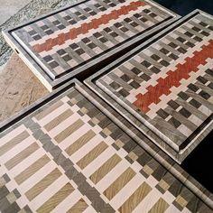 End Grain Cutting Board, Cutting Boards, Diy Wood Projects, Animal Print Rug, Hardwood, Woodworking, Bath, Quilts, Rugs