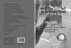 P D Lyons Winner of the 2119 erbacce-prize for poetry Poetry, Poems