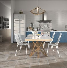 Buy Porcelain Modular Floor Tile - Rustic Brown at Argos. X 23, Brown Kitchen Designs, Rustic Home Design, Brown Kitchens, Tiles Texture, Rustic Colors, Tonne, Wall And Floor Tiles, Simple House