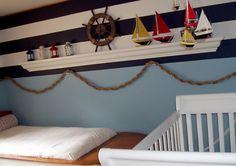 Nautical room decor