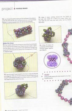 Poodle Beads - 3/4 - Beading Beads