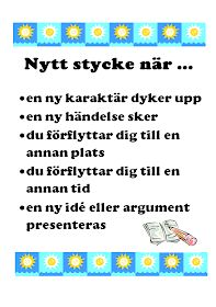 Hur lär vi elever styckeindelning? Det finns egentligen inga fasta regler när det gäller styckelängd och styckeutformning (indrag- e... Writing Words, Writing A Book, Writing Tips, Teaching Genre, Learn Swedish, Swedish Language, Information Literacy, Writing Process, School Hacks