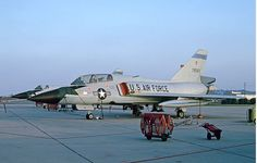 A two seat USAF Convair F-106B Delta Dart.