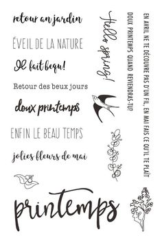 French words Clear Silicone Stamps for DIY Scrapbooking/Card Making/Kids Christmas Decoration Supplies Popular Vintage Christmas Crafts, Christmas Decorations For Kids, Christmas Crafts To Make, Kids Christmas, Christmas Cards, Vintage Style Tattoos, Bullet Journal Tracker, Vintage Drawing, Vintage Fashion Photography