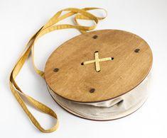 Crossbody Minimalist Crossbody Messenger Bag Wooden by Mangoshee