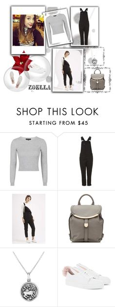 """""""Steal Her Style Zoella <3"""" by dhipha ❤ liked on Polyvore featuring Komar, Topshop, See by Chloé, Bling Jewelry, Minna Parikka, topshop, Zoella and bunnieschicks"""