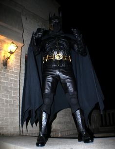 really good functioning bat suit....