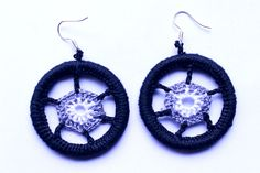 mataza mataza on Etsy Crochet Earrings, Etsy Seller, Drop Earrings, Unique, Jewelry, Ear Jewelry, Handmade, Crocheting, Jewlery
