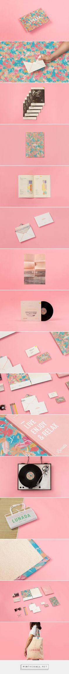 Lunada Branding on Behance   Fivestar Branding – Design and Branding Agency & Inspiration Gallery