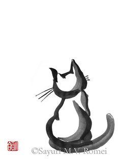 Cat Zen style - Commission by SayuriMVRomei