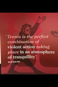Another reason why I love it :) Tennis