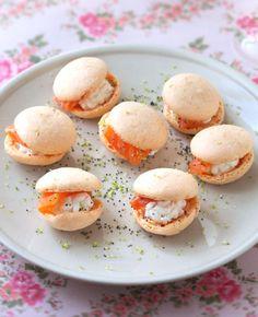 Des Macarons salés pour l'apéritif de Noël
