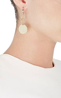 Loren Stewart XL Disk Dangle Earring - Earrings - 504745080