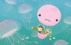 The Octonauts Jellyfish Balloon by Meomi. I love everything that they do!