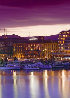 Hotel d'Angleterre - Geneva, Switzerland... Ready to go at a moment's notice!