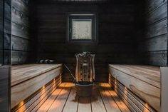 2696e9e94daf3f25e289eb16d84c2eba Sauna Lights, Wood Burning Heaters, Finnish Sauna, Swedish Sauna, Sauna Design, Outdoor Sauna, Spa Rooms, Sauna Room, Infrared Sauna