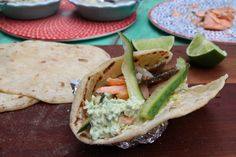 A quick and easy recipe from Jamie Oliver's Save with Jamie. Quick cucumber pickles and avocado salsa that can be made vegan. Also homemade wheat tortillas. #gurkpickles #avokadosalsa