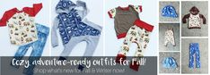 Canadian Clothing, Baseball Tees, Sustainable Clothing, Kids Wear, Boy Or Girl, Rompers, Cozy, Plaid, Adventure