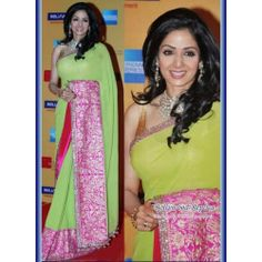 Sridevi Lemon Beauty Saree - by istyledeals - Buy Online Jewellery - MISTY24560119830