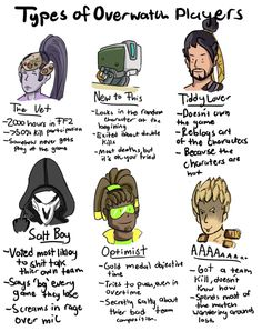 Overwatch Player Types