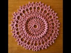 ▶ 99 Little Doilies (to Crochet) by Patricia Kristoffersen - YouTube