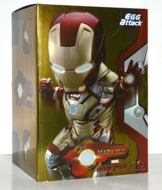 Kids logic egg #attack #ironman 3 mark xlii 42 led #light up figure,  View more on the LINK: 	http://www.zeppy.io/product/gb/2/162168751822/