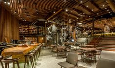 Starbucks Reserve Roastery 1124 pike street Seattle WA
