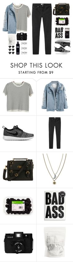 """""""Untitled #241"""" by tmizzle ❤ liked on Polyvore featuring Chicnova Fashion, NIKE, Acne Studios, Dahlia, Rachel Rachel Roy and Areaware"""