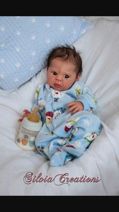 a095d239df4 ❤️Reborn Doll Baby❤ Custom Made From Eric Kit By Adrie Stoete❤ Christmas  order