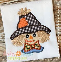 Baby Kay's Appliques - Scarecrow Boy 2 4x4, 5x7, 6x10, 8x8, $4.00 (http://www.babykaysappliques.com/scarecrow-boy-2-4x4-5x7-6x10-8x8/)