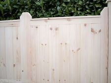 Custom Made - 'supreme' Heavy Duty Panelled Wooden Double Driveway Gates